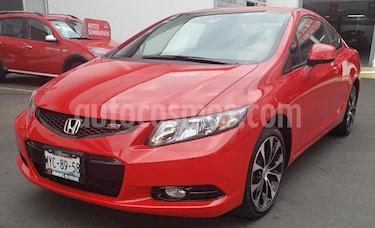 Honda Civic Coupe EX 1.7L usado (2013) color Rojo precio $220,000