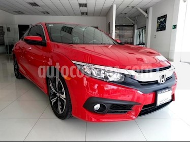 Honda Civic 2P COUPE TURBO CVT 1.5T 174 HP QC RA-17 usado (2018) color Rojo precio $355,000