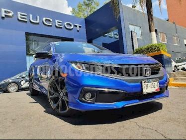 Honda Civic Coupe Turbo Aut usado (2019) color Azul precio $394,900