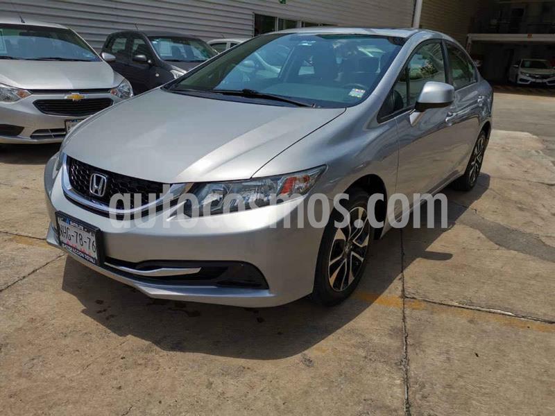 Honda Civic EX Aut usado (2013) color Plata precio $159,000