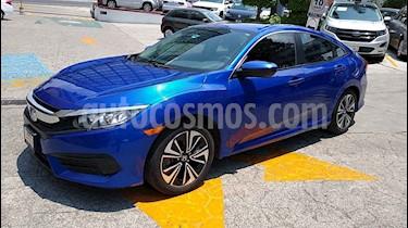 Honda Civic 4p Turbo L4/1.5/T Aut usado (2017) color Azul precio $289,000