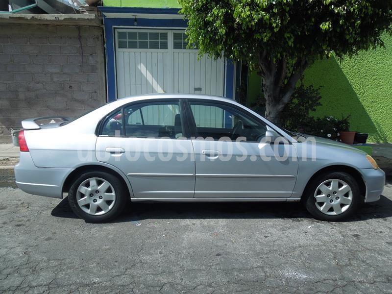 Honda Civic EX usado (2002) color Plata precio $37,000