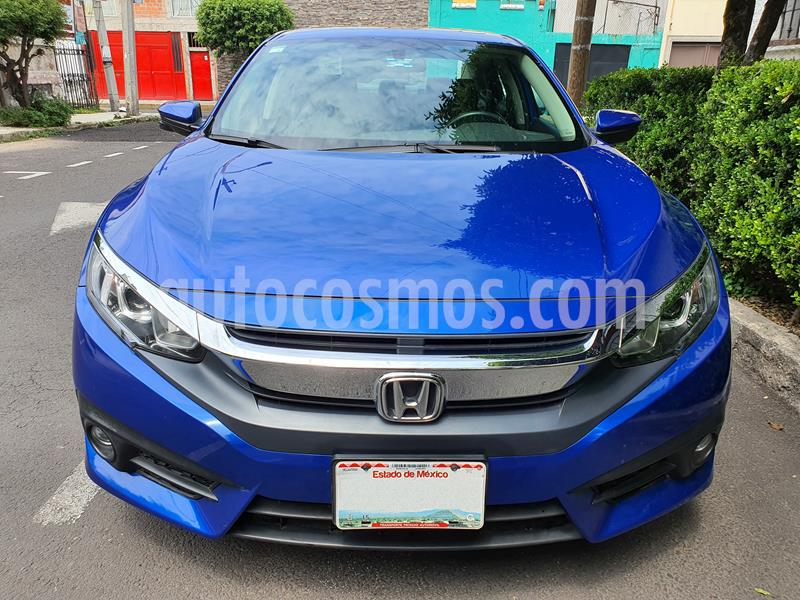 Honda Civic Turbo Plus Aut usado (2016) color Azul precio $264,000