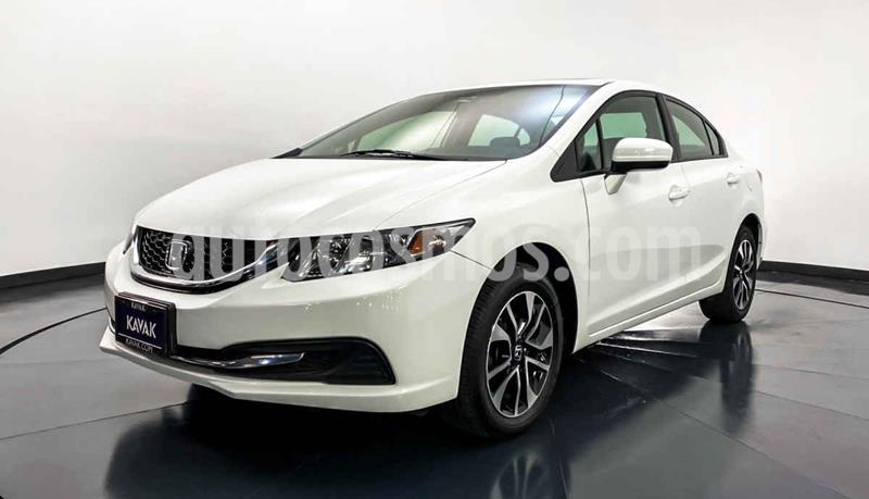 Honda Civic EX 1.8L Aut usado (2014) color Blanco precio $187,999