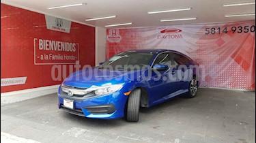 Honda Civic Turbo Aut usado (2017) color Azul precio $289,000