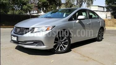Foto Honda Civic EXL 1.8L Aut NAVI usado (2015) color Plata precio $229,500