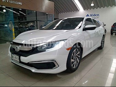 Honda Civic 4p EX Sedan L4/2.0 Man usado (2019) color Blanco precio $319,000