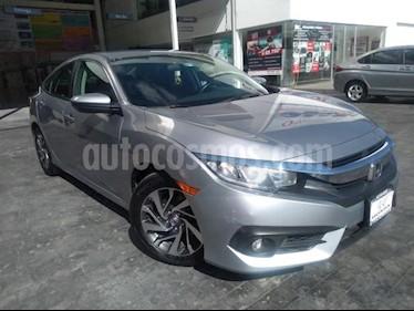 Honda Civic 4P I STYLE CVT 2.0L 158 HP F. NIEBLA RA-16 usado (2018) color Plata precio $325,000