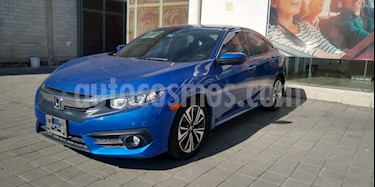 Honda Civic Turbo Plus Aut usado (2016) color Azul precio $252,000