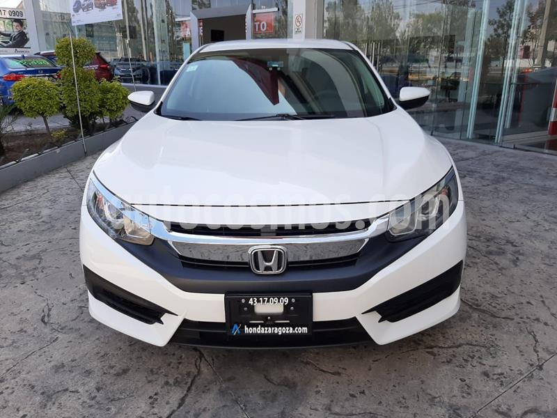 Honda Civic Si Sedan usado (2017) color Blanco precio $265,000