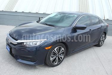 Honda Civic Turbo Aut usado (2017) color Azul precio $299,000
