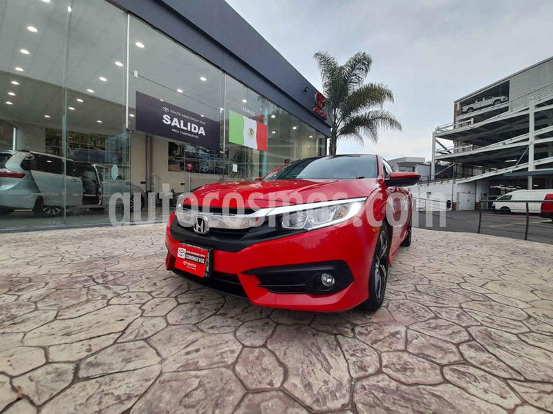 Honda Civic Coupe Turbo Aut usado (2018) color Rojo precio $345,000