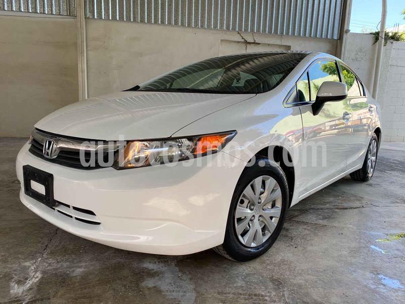 Honda Civic LX 1.8L Aut usado (2012) color Blanco precio $125,000