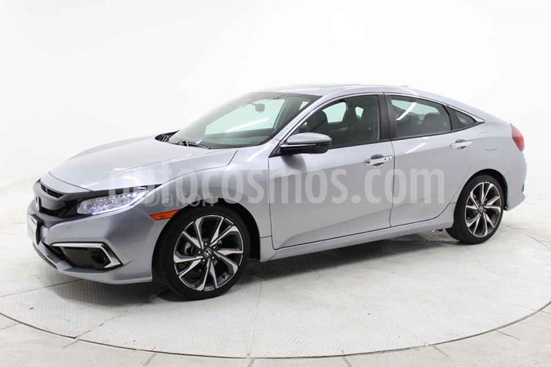 Honda Civic Touring Aut usado (2020) color Plata precio $425,000