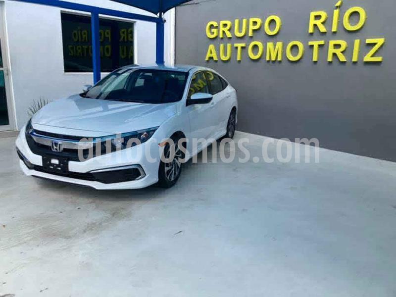Honda Civic EX usado (2019) color Blanco precio $298,000