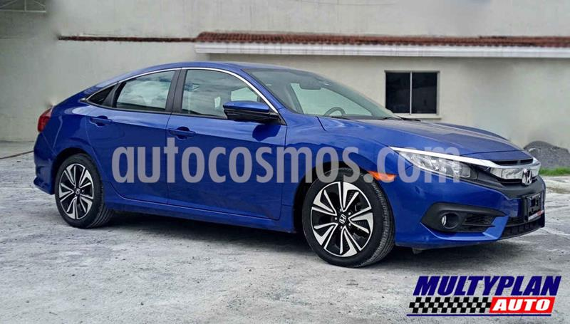 Honda Civic Turbo Plus Aut usado (2016) color Azul precio $299,000