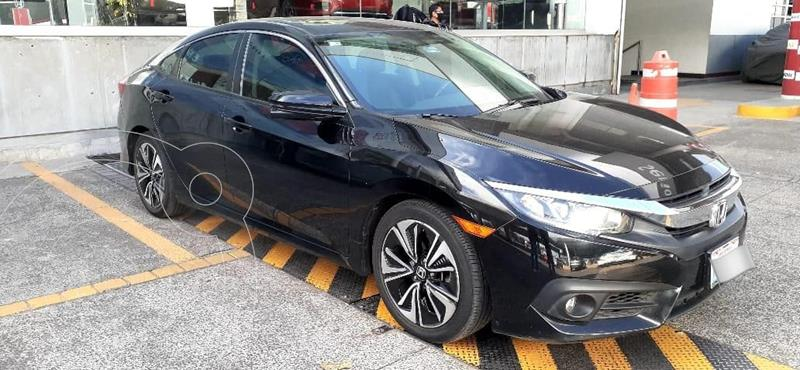 Honda Civic Turbo Plus Aut usado (2018) color Negro precio $267,000
