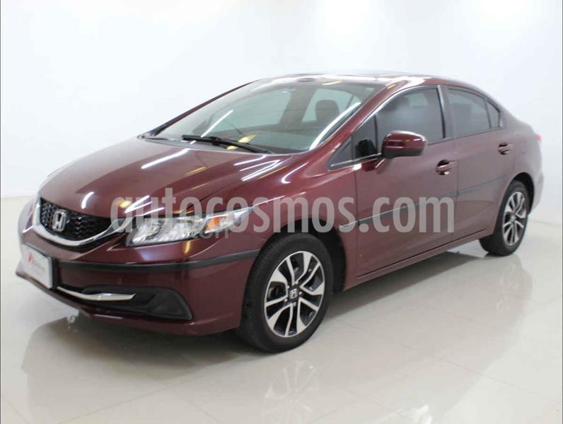 Honda Civic EX 1.8L Aut usado (2015) color Rojo precio $199,000