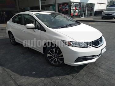 Honda Civic EX 1.8L Aut usado (2014) color Blanco precio $189,000
