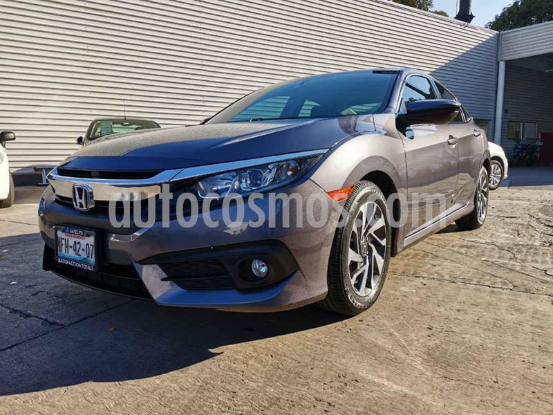 Honda Civic i-Style Aut usado (2018) color Gris precio $295,000