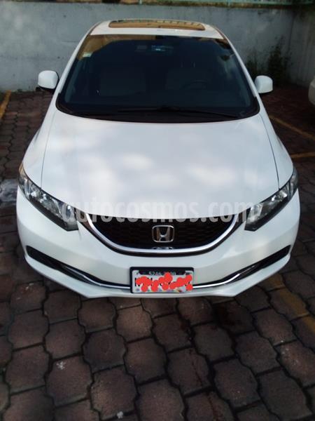 Honda Civic LX 1.8L usado (2013) color Blanco precio $149,000