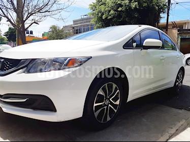 Honda Civic EXL 1.8L Aut NAVI usado (2015) color Blanco precio $198,000