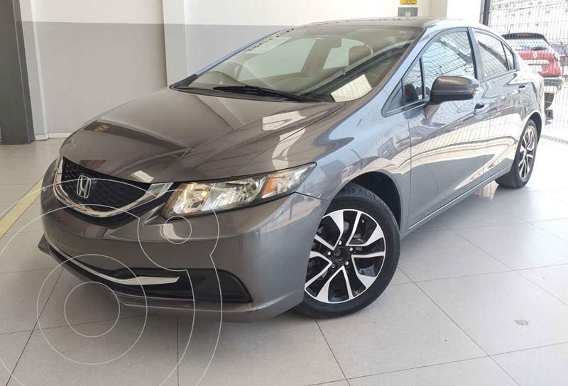 Foto Honda Civic EX 1.8L Aut usado (2014) color Blanco precio $180,000