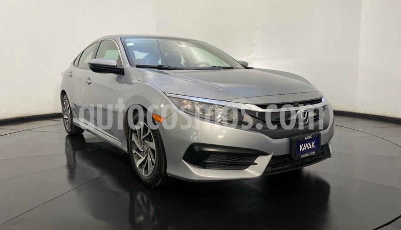 Honda Civic Coupe EX 1.8L Aut usado (2015) color Gris precio $252,999