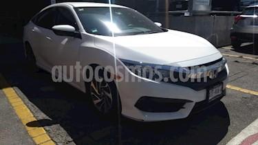 Honda Civic 4P TURBO SEDAN CVT 1.5T 174 HP QC RA-17 usado (2016) color Blanco precio $248,000