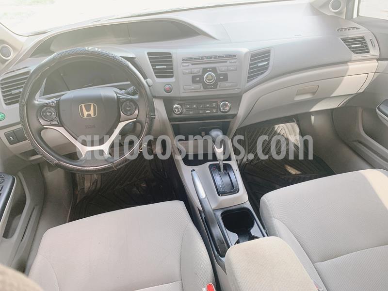Honda Civic EXL 1.8L Aut usado (2012) color Blanco Marfil precio $137,000