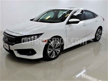 Honda Civic 4p Turbo Plus L4/1.5/T Aut usado (2017) color Blanco precio $295,000