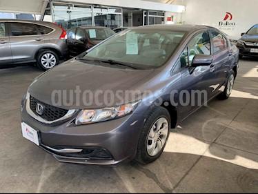 foto Honda Civic 4p LX Sedán L4/1.8 Man usado (2014) color Café precio $179,000