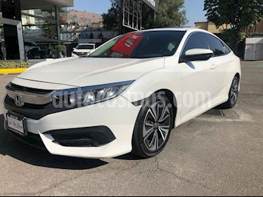 Honda Civic Turbo Aut usado (2016) color Blanco precio $253,000