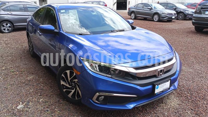 Honda Civic i-Style Aut usado (2019) color Azul Deportivo precio $335,000