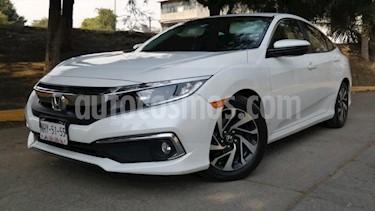 Honda Civic 4P I STYLE CVT 2.0L 158 HP F. NIEBLA RA-16 usado (2019) color Blanco precio $325,000