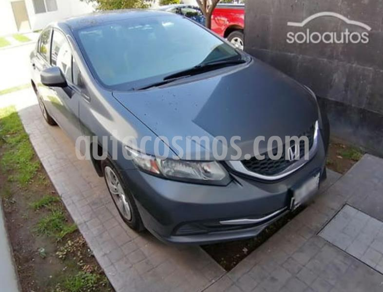 Honda Civic LX 1.8L Aut usado (2013) color Gris precio $152,500