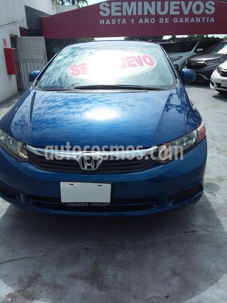 Honda Civic EX usado (2012) color Azul precio $160,000