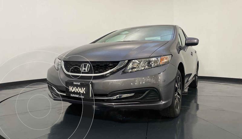 Honda Civic EX 1.8L Aut usado (2014) color Gris precio $192,999