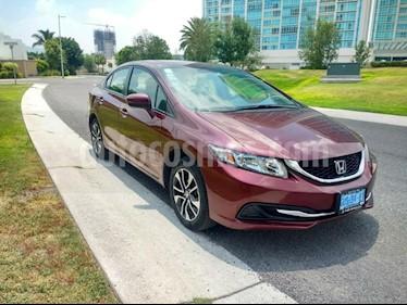Honda Civic EXL 1.8L Aut NAVI usado (2014) color Rojo Camelia precio $185,000