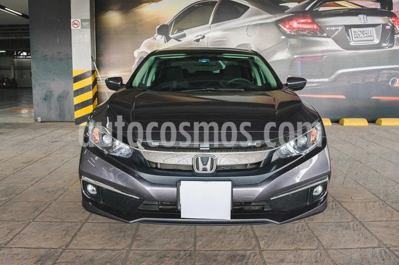 Honda Civic i-Style Aut usado (2019) color Gris Oscuro precio $345,000