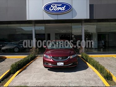 Honda Civic LX SEDV°N L4/1.8 MAN usado (2015) color Rojo precio $162,000