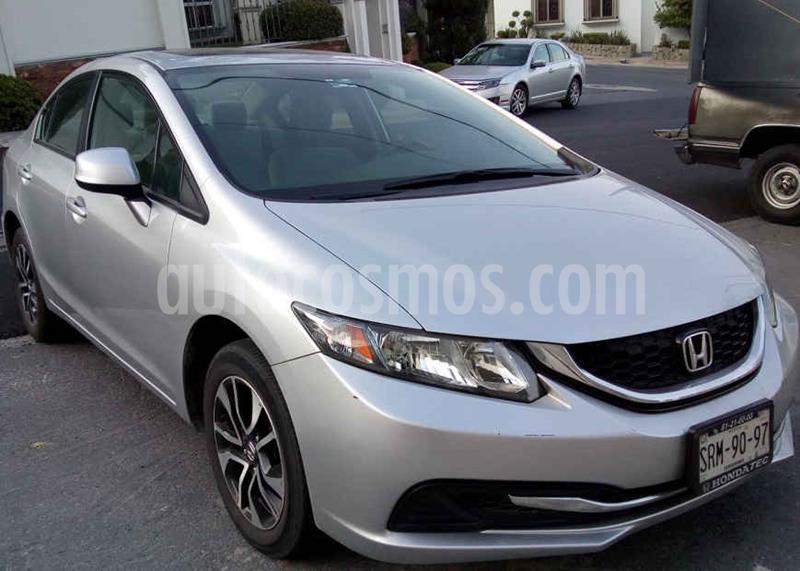 Honda Civic EX Aut usado (2013) color Plata precio $163,000
