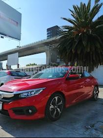 Honda Civic EX Aut usado (2017) color Rojo precio $289,000