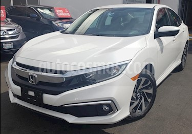 Honda Civic i-Style Aut usado (2019) color Blanco Platinado precio $355,000
