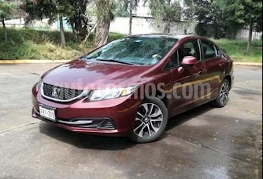 Honda Civic 4p EX Sedan L4/1.8 Man usado (2013) color Rojo precio $169,000