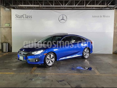 Honda Civic Turbo Plus Aut usado (2018) color Azul precio $339,000