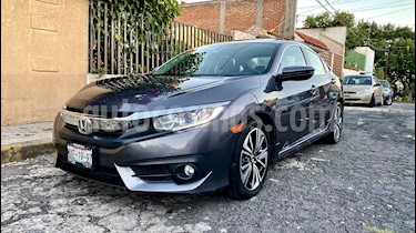 Foto Honda Civic Turbo Plus Aut usado (2016) color Gris precio $258,000