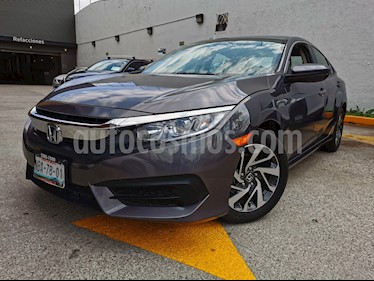 Honda Civic Coupe EX 1.7L usado (2017) color Gris precio $225,000