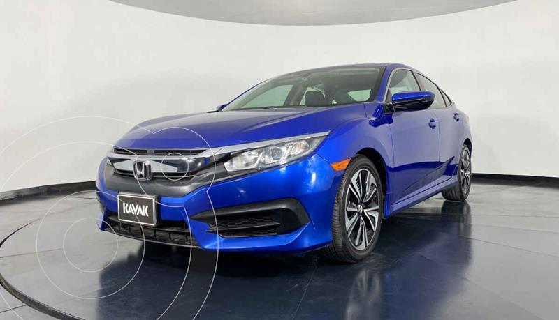Foto Honda Civic EX 1.8L Aut usado (2015) color Azul precio $274,999