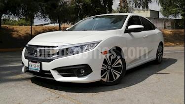 Honda Civic 4P TURBO PLUS SEDAN CVT 1.5T 174 HP PIEL QC F. NI usado (2018) color Blanco precio $355,000